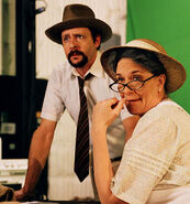 Jeanmarie Simpson and Judd Nelson
