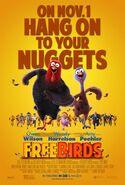Free Birds (2013) poster