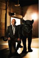 Jungle Book 2016 - Sir Ben Kingsley as Bagheera 001
