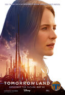 Tomorrowland Poster Casey 003