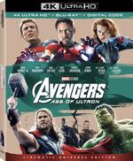 Avengers Age of Ultron 4k MCU Edition