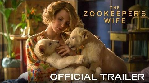 THE ZOOKEEPER'S WIFE - Official Trailer HD - In Theaters March 2017