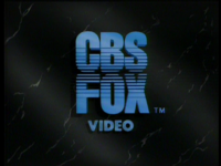 CBS Fox Video 1984