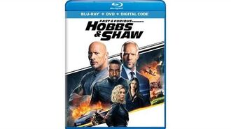Opening to Fast & Furious Presents Hobbs & Shaw 2019 Blu-ray