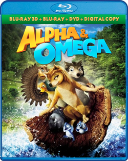 Shout! Factory Kids - Alpha and Omega Blu-ray 3D