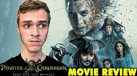 Pirates of the Caribbean Dead Men Tell No Tales Movie Review - Caillou Pettis