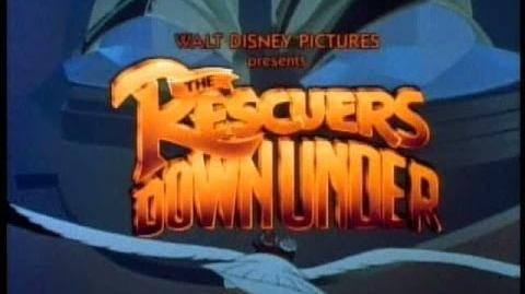 The Rescuers Down Under - 1990 Theatrical Trailer