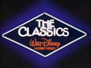 Walt Disney Classics 1984 Logo