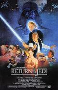Return of the Jedi 1983 Poster
