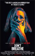 Don't Breathe 2016 Poster