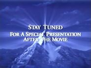 Stay Tuned For a Special Presentation After the Movie