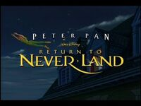 Video trailer Peter Pan in Return to Neverland