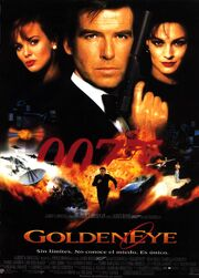 James Bond- GoldenEye Teaser Poster