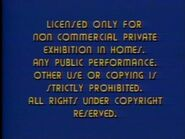 Second Paramount Home Entertainment warning screen (variant)