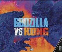 Godzilla vs. Kong - licensing promotional poster