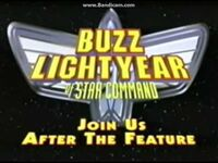 Join Us After the Feature (Buzz Lightyear of Star Command- The Adventure Begins variant)