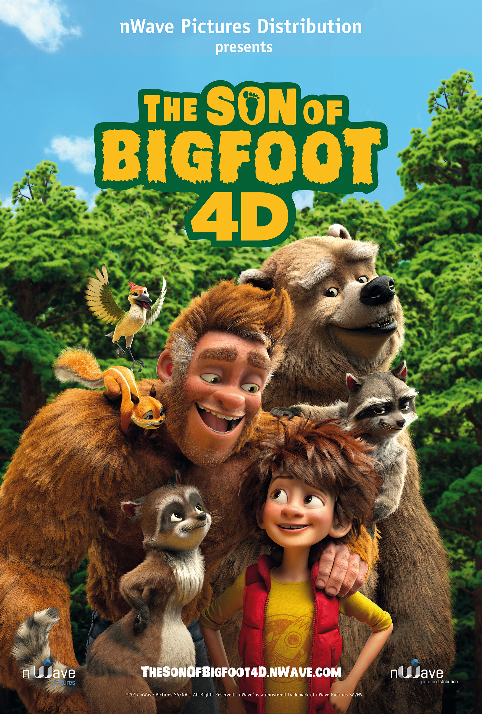 The Son Of Bigfoot Or Junior Is A Belgian And French CGI Animated Film That Was Released On 11 August 2017 In Several Countries