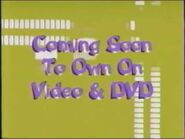 Coming Soon to Own on Video & DVD (Music Bars Variant)