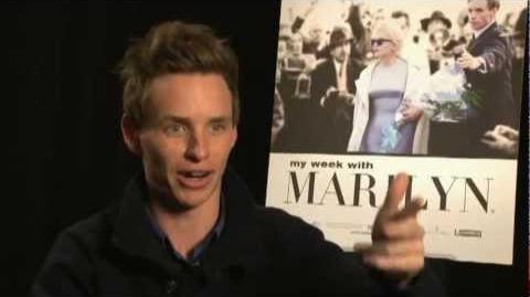 My Week with Marilyn Interview - Eddie Redmayne