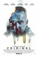Criminal 2016 poster