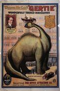 Gertie the Dinosaur 1914 Poster