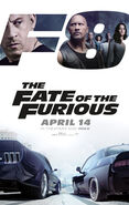 The Fate of The Furious Theatrical Poster