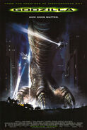 Godzilla (1998 Movie Poster)