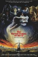 The NeverEnding Story II - The Next Chapter 1990 Poster
