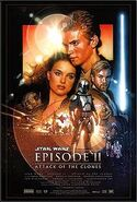 Star Wars - Episode II Attack of the Clones (movie poster)