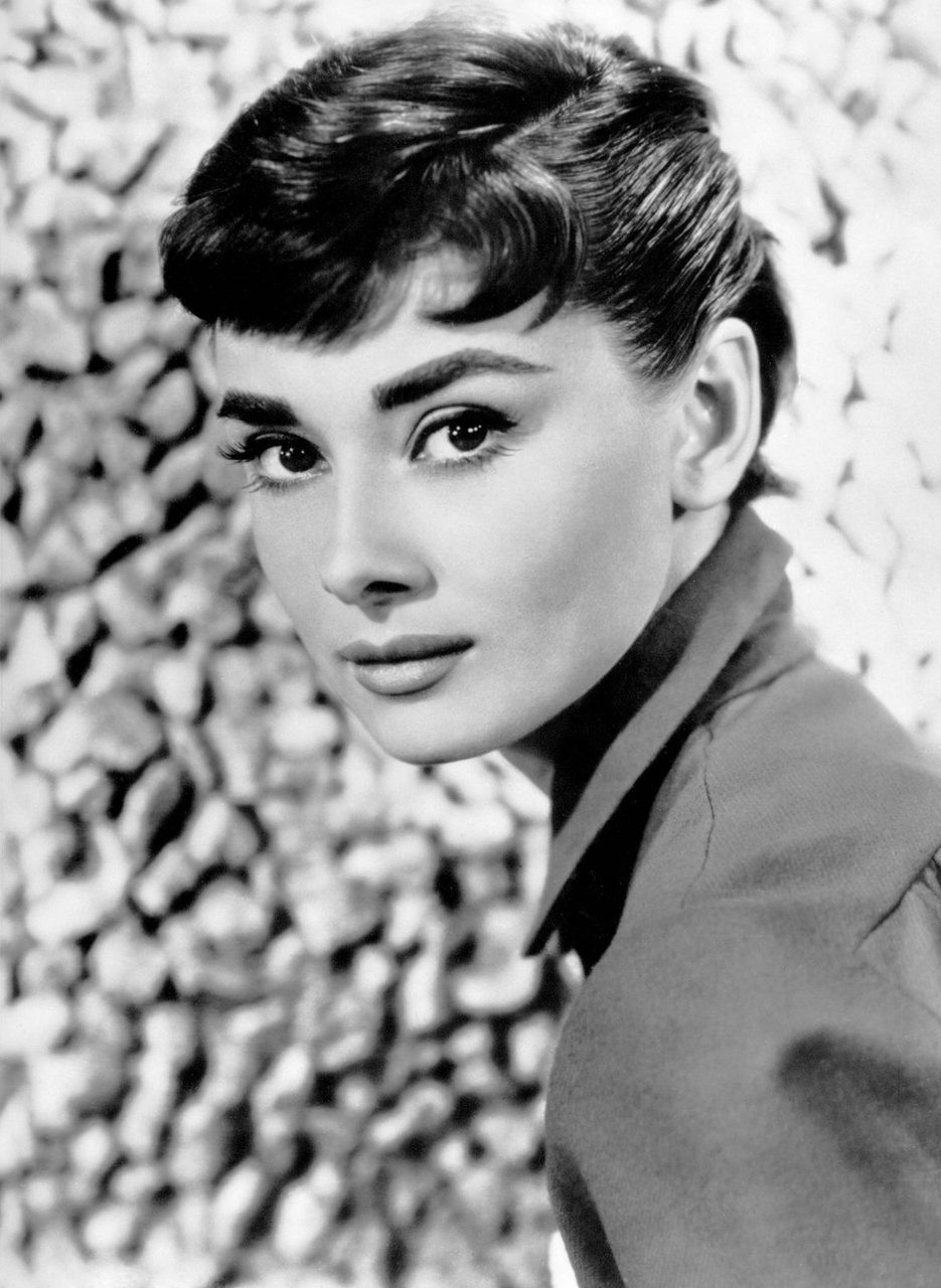 photo Audrey Hepburn (1929?993 (born in Ixelles, Belgium)
