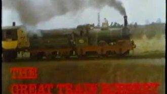 Opening & Closing to The Great Train Robbery 1981 VHS True HQ