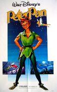 Peter pan 1982 rerelease poster