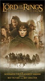 Fellowship of the Ring VHS
