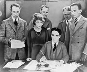 United Artists contract signature 1919