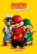 Alvin and the Chipmunks Chipwrecked Poster
