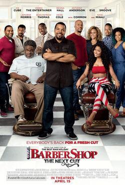Barbershop The Next Cut poster