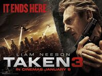 Taken3 teaserposter