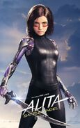 Alita Character Poster