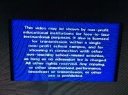 Disney FBI Warning 7th Version Screen 2