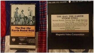 Opening to The Day The Earth Stood Still 1978 VHS True HQ