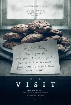 The Visit - Teaser One Sheet