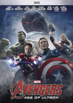 Avengers Age of Ultra DVD