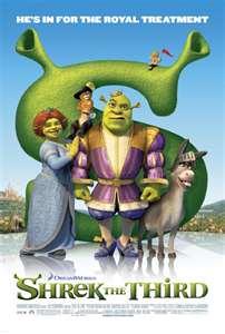 Shrek The Third 2007 movie poster