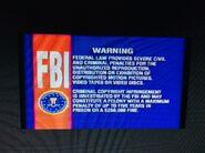 Disney FBI Warning 7th Version