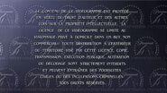 French Warning