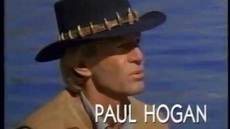 """Opening to """"Crocodile"""" Dundee II 1989 VHS True HQ"""