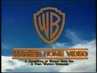 Warner Home Video 1990 with Time Warner byline