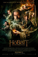 The Hobbit - The Desolation of Smaug theatrical poster