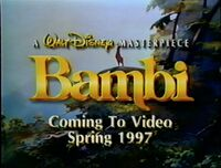 Video trailer Bambi