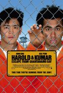 Harold and Kumar Escape from Guantanamo Bay 2008 Poster